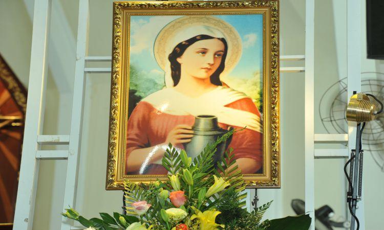 Mừng lễ Thánh nữ Mácta: Bổn Mạng hội làm đẹp Nhà Chúa 'Đền Đức Mẹ Hằng Cứu Giúp'