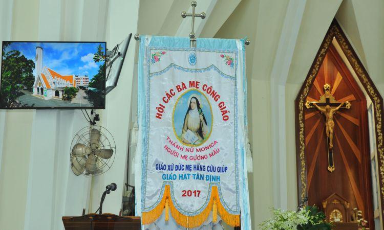Hội các Bà mẹ Công Giáo Gx. Đức Mẹ HCG Mừng Bổn Mạng Thánh Monica