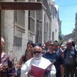 Đàng Thánh giá ở Via Dolorosa ở Giêrusalem