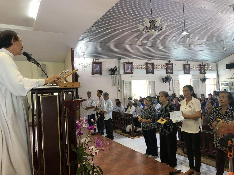 Ngày họp mặt Hội Đức Mẹ Hằng Cứu Giúp tại Vĩnh Long