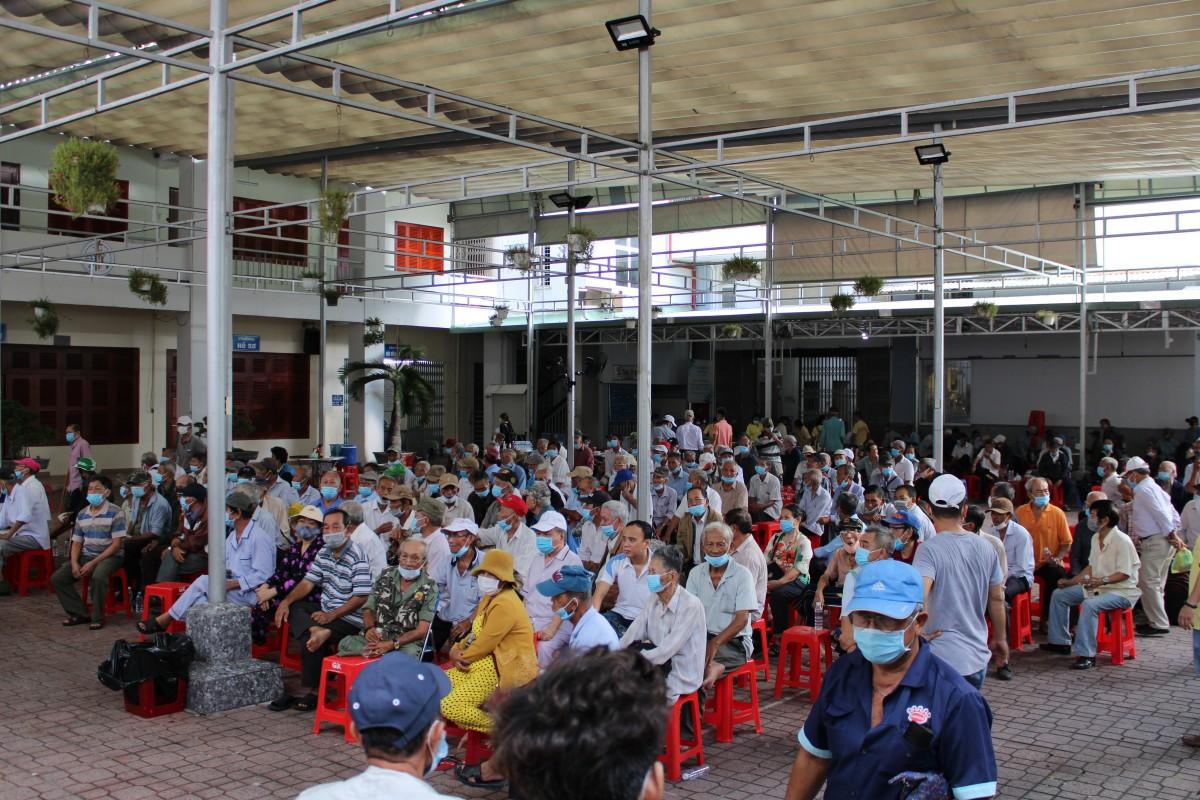 Chương trình khám bệnh, phát thuốc và trao quà cho các ông thương phế binh Việt Nam Cộng Hoà đợt V