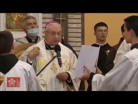 15/05 Kinh Mân Côi tại Đền thánh Nữ Vương Hòa Bình (Bosnia)
