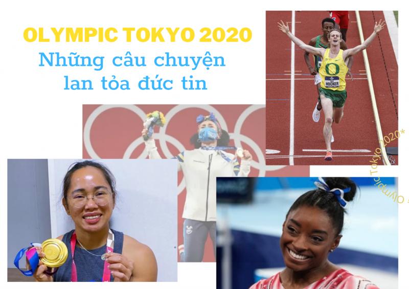 Olympic Tokyo 2020: Những câu chuyện lan tỏa đức tin