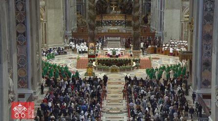 Thánh lễ khai mạc Thượng Hội đồng Giám mục lần thứ XVI